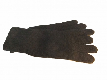 Shoes-More Mc- Burn Damen Strickfingerhandschuhe 8557-7 schwarz