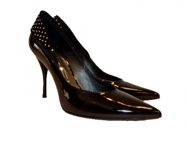 Shoes-More Tiffi Damen Pumps Lackleder 214-90 schwarz Grösse 39
