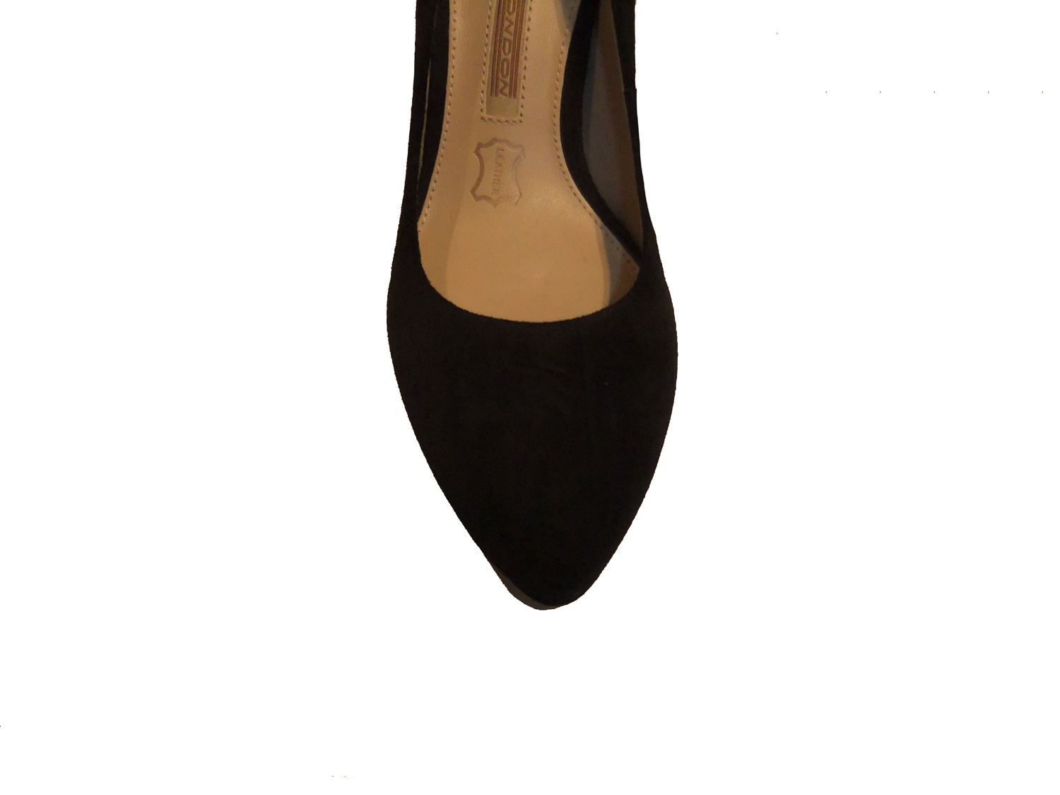 Shoes More Buffalo Pumps Wildleder ZS 2815 Kid Suede schwarz