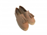 Shoes-More Lazamani Espandrillos in Leder 40030 dusty pink