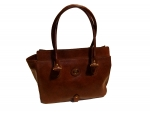 Shoes-More The Bridge Henkeltasche Leder 044593-01-14 braun