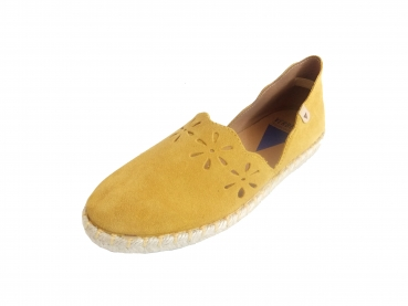 Shoes-More Verbenas Damen Slipper Carmen 9688 ocre
