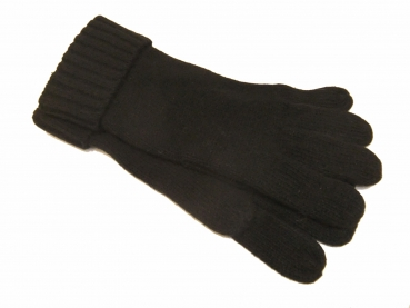 Shoes-More Seeberger Herren Strickfingerhandschuh Gr.: L 017191-00000-10 schwarz